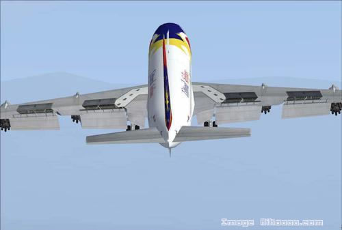 Boeing 707-200 Littoral Airlines FS2004