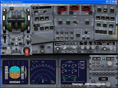 DOWNLOAD Airbus A380-800 VC Air France FSX & P3D - Rikoooo
