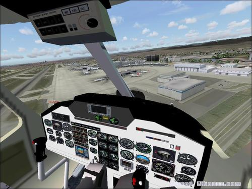 Supercopter AIRWOLF (TV) Bell 222 FS2004