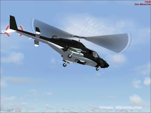 Supercopter Airwolf (TV) Sino 222 FS2004