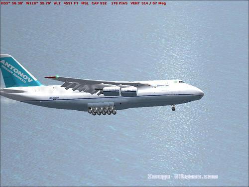 Antonov An-124 Antonov Airlines FS2004