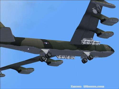 Boeing Bombardier B52 D Stratofortress FS2004