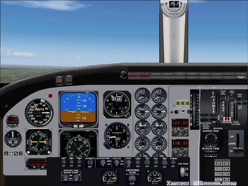Beechcraft C90 BXP King Air Blackhawk FS2004