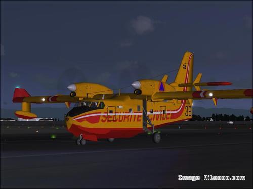 Bombardier CL-415 Canadair FS2004