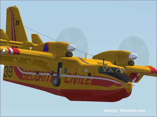 Bombardier CL-415 Canadair FS2004