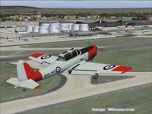 de Havilland کاناډا DHC-1 Chipmunk FS2004