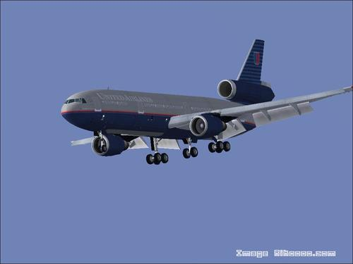 McDonnell Douglas DC-10-30 United Airlines FS2004