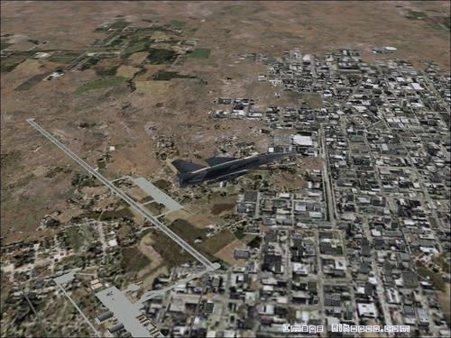 Base militaire de N'Djamena Csád FS2004