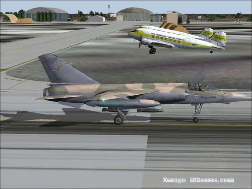 Base militaire de N'Djamena Tchad FS2004