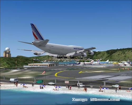Saint-Martin - Princess Juliana TNCM FS2004