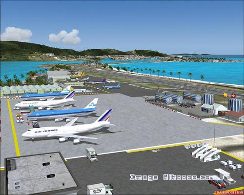Île Saint-Martin - Princess Juliana TNCM FS2004