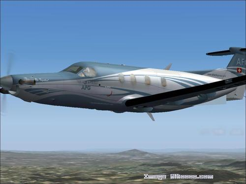 AFG Pilatus ولايتي 12 FS2004