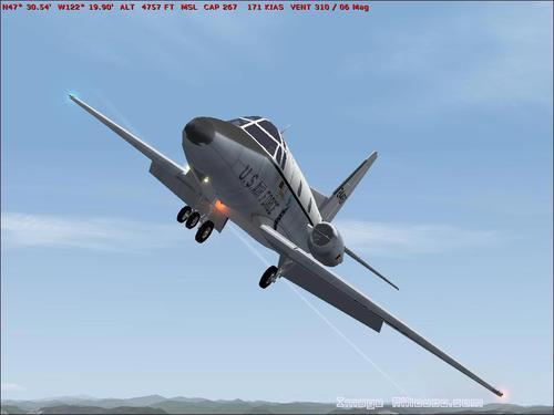 Nò Ameriken T-39 Sabreliner FS2004