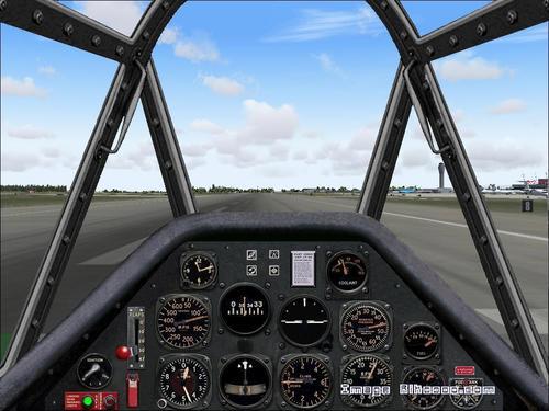 Gogledd America T-6G hawddgar FS2004