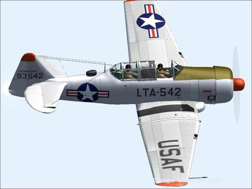 North American T-6G Texan FS2004