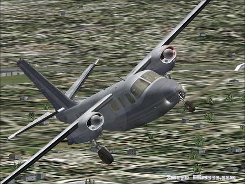 航空指揮官AC 500貨物FS2004