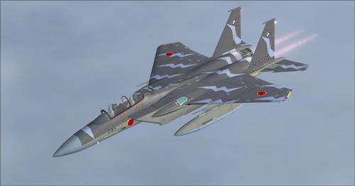 IRIS ဘိုးအင်းက F-15E Strike လင်းယုန် FSX  &  P3D