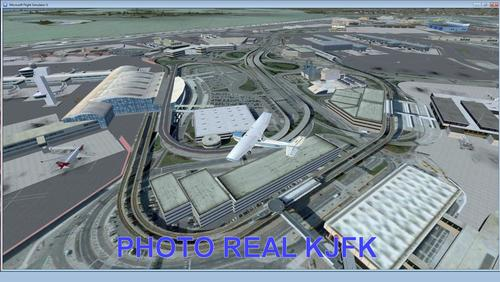"""JFK Photo Real Scenery"" FSX  &  P3D"