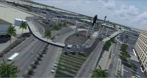 KLAX - Los Angeles International Airport Photoreal FSX  &  P3D