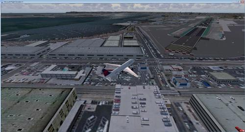 KSAN San Diego Photo Purotu Real FSX & P3D