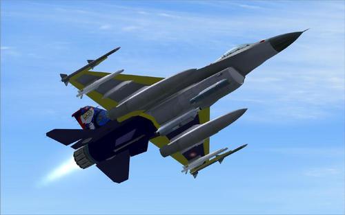 Lockheed Martin F-16 Fighting Falcon Viper FS2004