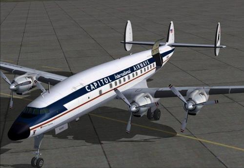 Lockheed L-1049H Superkonstellasie FSX