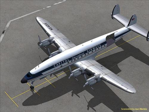 Lockheed L-1049H Super Constellation FS2004