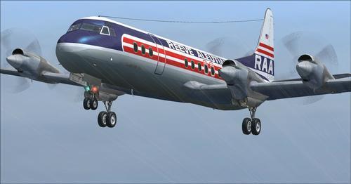 Lockheed L-188 Electra Passenger & Cargo FSX
