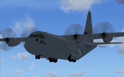Lockheed Martin C-130J-30 для FSX