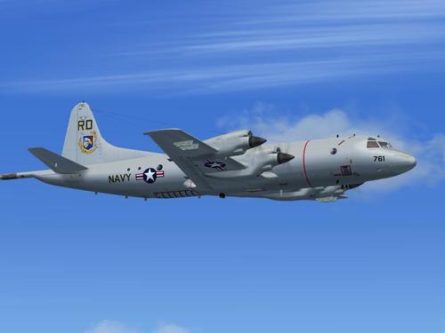 """""""Lockheed P-3C Orionas komanda FS KBT FS2004"""