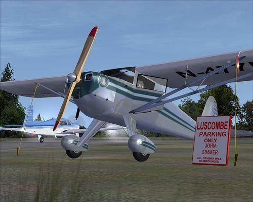 Luscombe 8A Silvaire - Classic Wings FSX