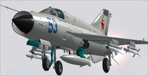 MIG-21 Madness Package v1.1 FS2004