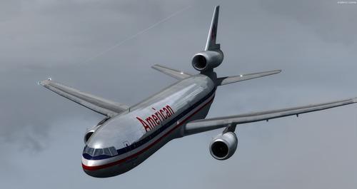 McDonnell Douglas DC10-30 sígild lifur FSX & P3D