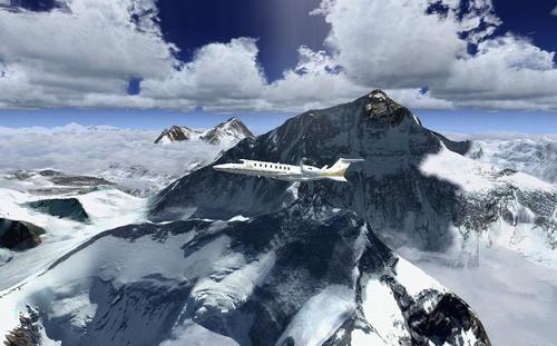 Photoreal Mt Everest პლუს Mesh FSX  &  P3D