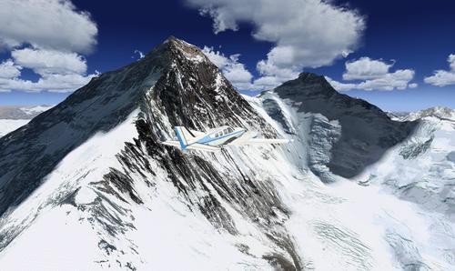 Photoreal Mt Everest plus Mesh FSX & P3D