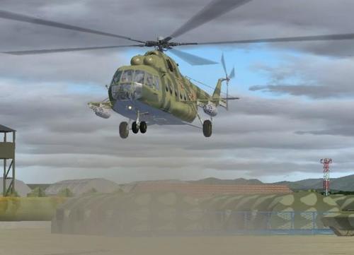 Mi-8MT versi Hip 4.1 FS2004