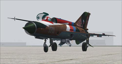 МиГ-21MF FSX & P3D