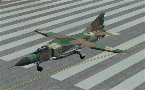 MiG-23 பிளாகர் FSX  &  P3D