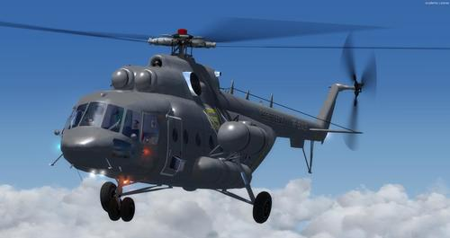 Air Force Rúisis na Mi-171 FSX  &  P3D