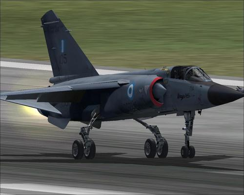 Dassault Mirage F.1CG Hellenic Air Force FSX