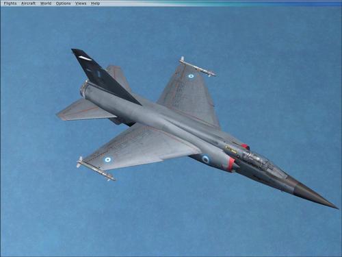 Dassault Mirage F.1CG Hellenic Air Force FSX