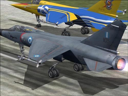 Dassault मृगजळ F.1CG Hellenic हवाई दल FSX