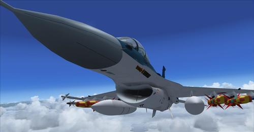 Mitsubishi F-2A/B FSX & P3D