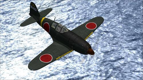 Mitsubishi J2M3 Raiden Type 21 Jack FSX SP2
