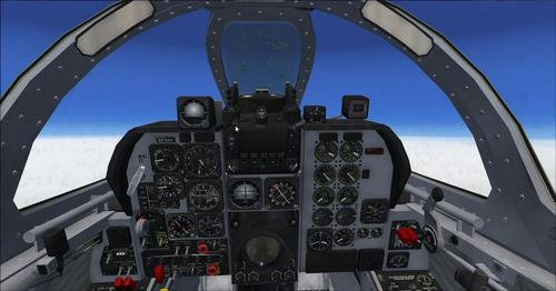 Mitsubishi T-2 FSX SP2 & P3D