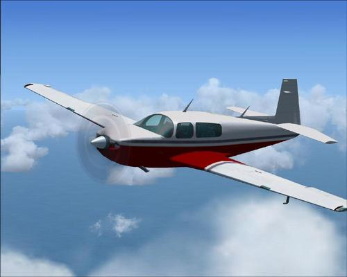 Mooney Acclaim Cineál S Turbo FSX