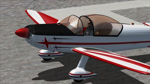 Leutak CAP-10 pikeun FSX