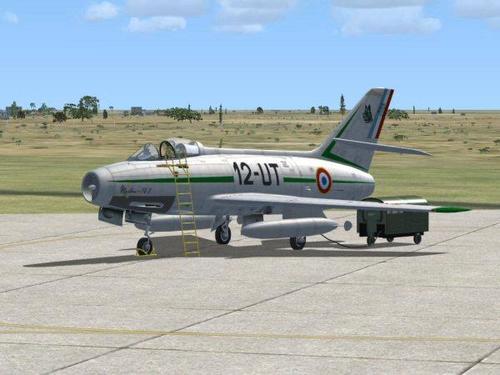 Dassault Mystère IV ა FSX