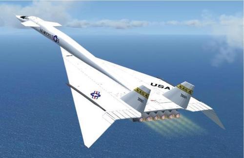 North American XB-70 Bob NASA FS2004