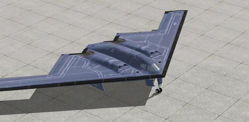 Northrop B-2A Spirit AlphaSim FSX in P3D